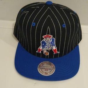 Mitchell and Ness PATRIOTS Snapback Hat